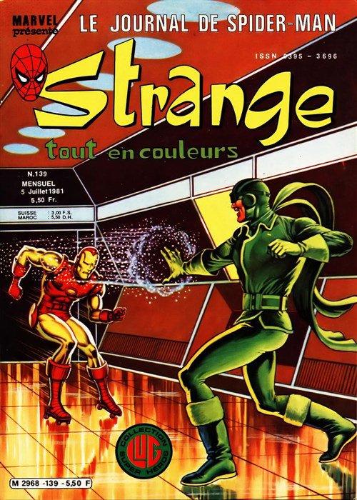 Strange 139 (1981), cover par: Jean Frisano