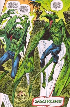 Une aventure des X-Men: Ka-Zar (1975), cover par: Jean Frisano