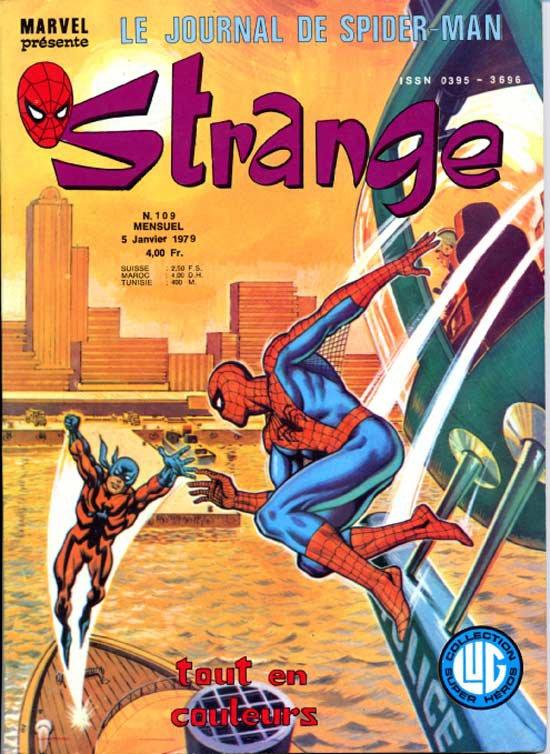 Strange 109 (1979), cover par: Jean Frisano