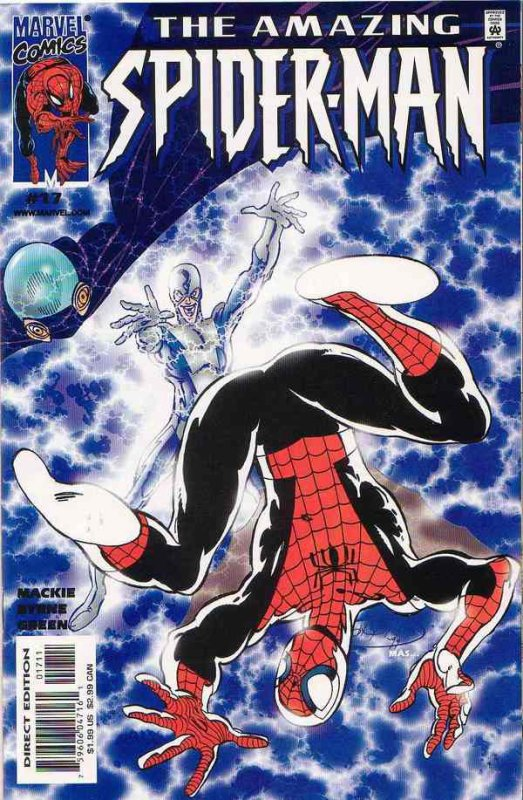 The Amazing Spider-Man 17 (2000), dessins de: John Byrne