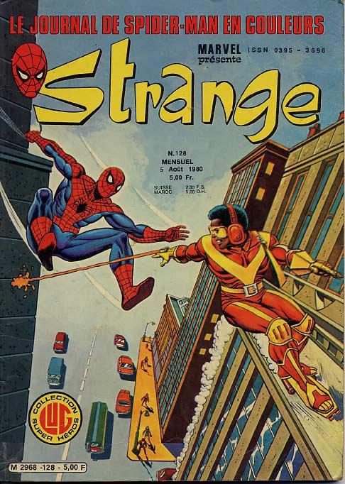 Strange 128 (1980), cover par: Jean Frisano