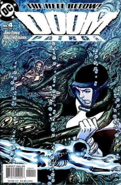 Doom Patrol 4 (2004), dessins de: John Byrne