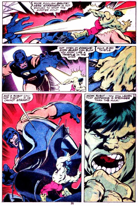 The Incredible Hulk: Hand of Holocaust (1978), dessins de: John Byrne