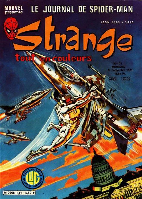 Strange 141 (1981), cover par: Jean Frisano