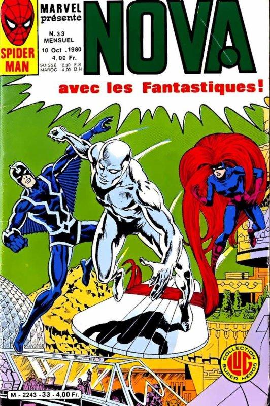 Nova 33 (1980), cover dessinée par Jean et Thomas Frisano
