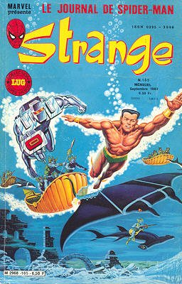 Strange 165 (1983), cover par: Jean Frisano