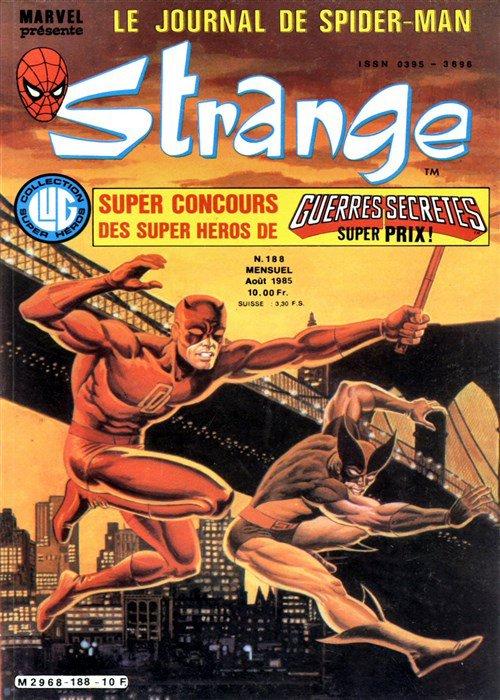 Strange 188 (1985), cover par: Jean Frisano
