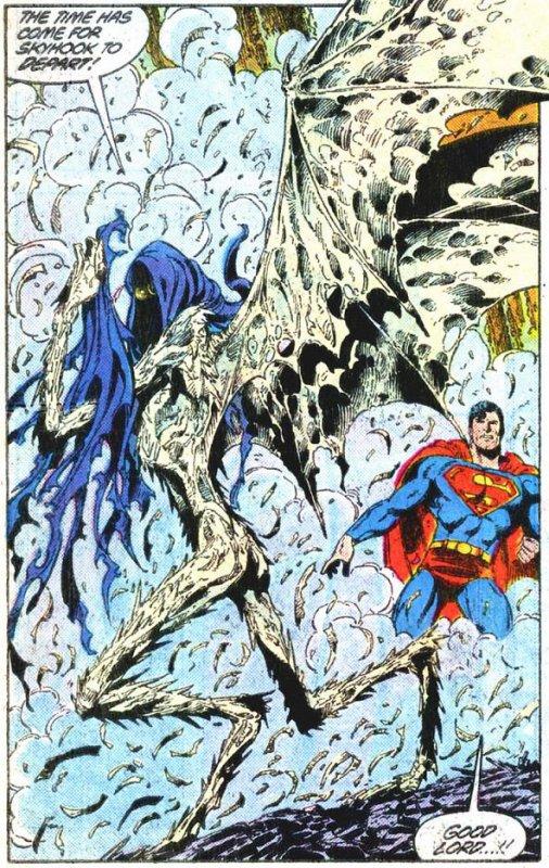 Superman 15 (1988), cover et dessins par: John Byrne