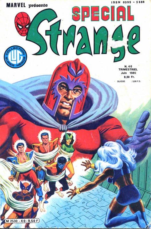 Spécial Strange 40 (1985), cover par: Jean Frisano
