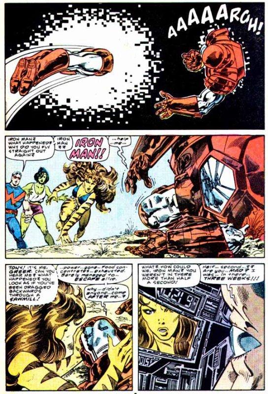 Fantastic Four 293 (1986), dessins de: John Byrne