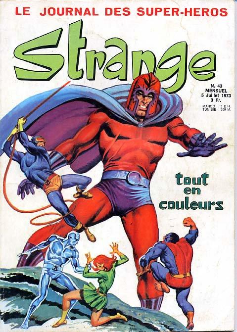 Strange 43 (1973), cover par: Jean Frisano