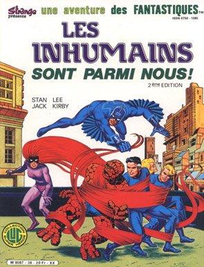 Les Inhumains sont parmi nous (1986), cover par: Jean Frisano