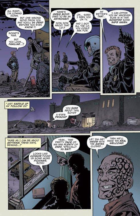Doomsday.1 (2013) aka Doomsday + 1, scénario et dessins: John Byrne