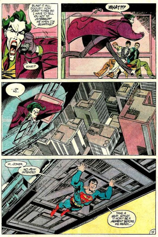 Superman 9 (1987), dessins de: John Byrne