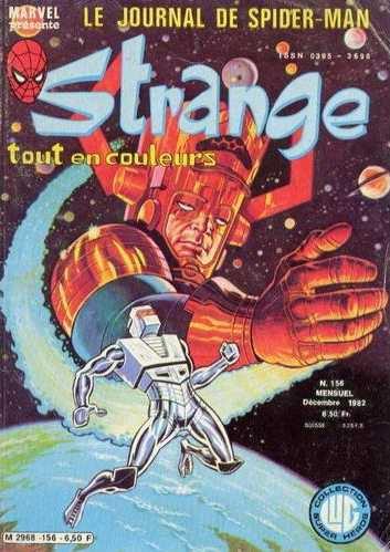 Strange 156 (1982), cover par: Jean Frisano
