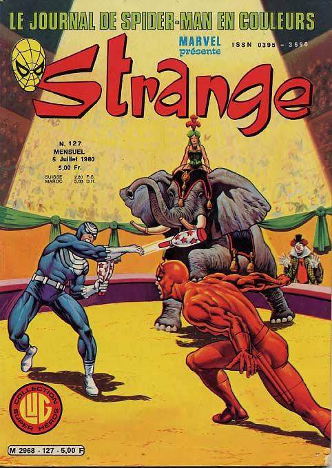 Strange 127 (1980), cover par: Jean Frisano