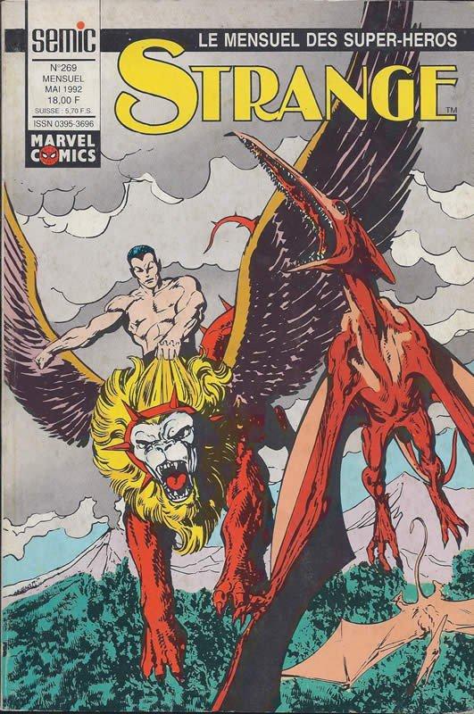 Strange 269 (1992), cover par: John Byrne