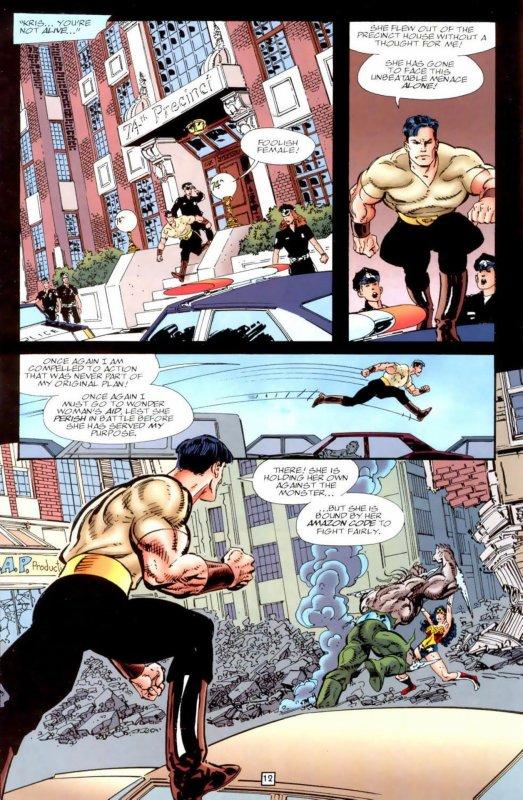Wonder Woman 111(1996), scenario et dessins: John Byrne