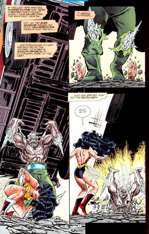 Wonder Woman 111 et 112 (1996), scénario et dessins: John Byrne