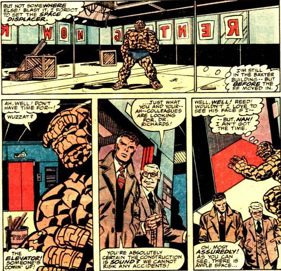 Marvel Two-in-One 50: The Thing battles the Thing (1979), dessins de: John Byrne