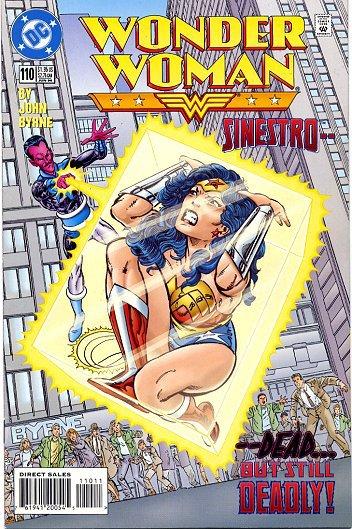 Wonder Woman 113 (1996), scénario et dessins de: John Byrne