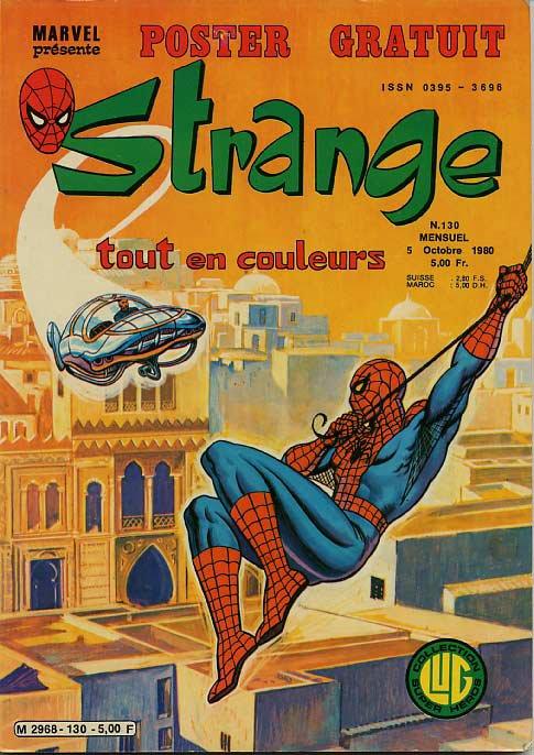 Strange 130 (1980), cover par: Jean Frisano