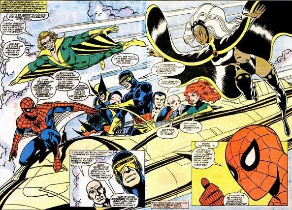 Marvel Team-Up 53 et 54 (1977) dessinés par: John Byrne