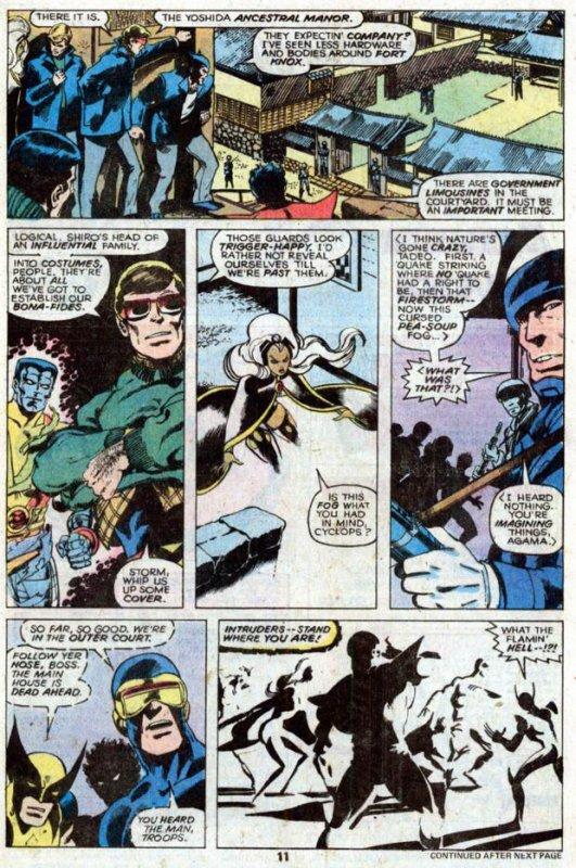 The Uncanny X-Men 118-119 (1978), dessins par: John Byrne