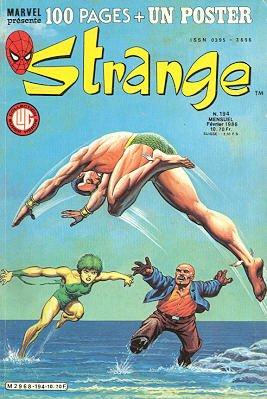 Strange 194 (1986), cover par: Jean Frisano