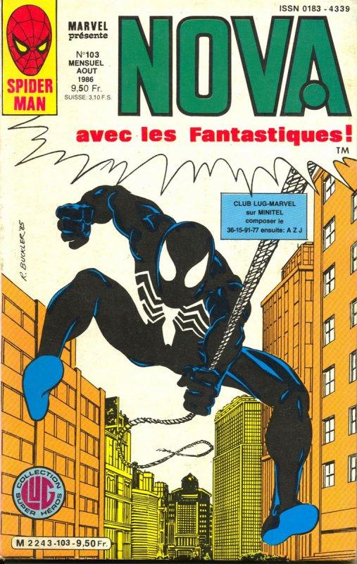 Nova 103 (1986), cover par: Rich Buckler