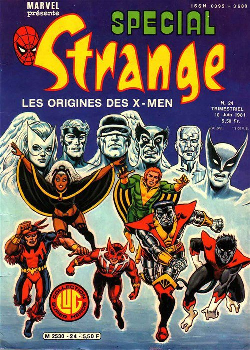 Spécial Strange 24 (1981), cover par: Jean Frisano