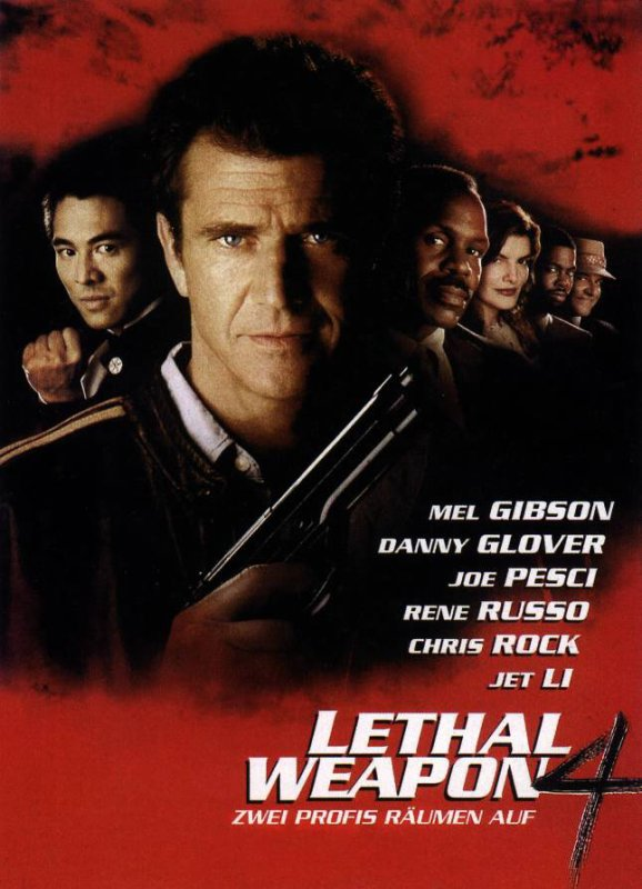 L'Arme Fatale 4 (1998), aka Lethal Weapon 4