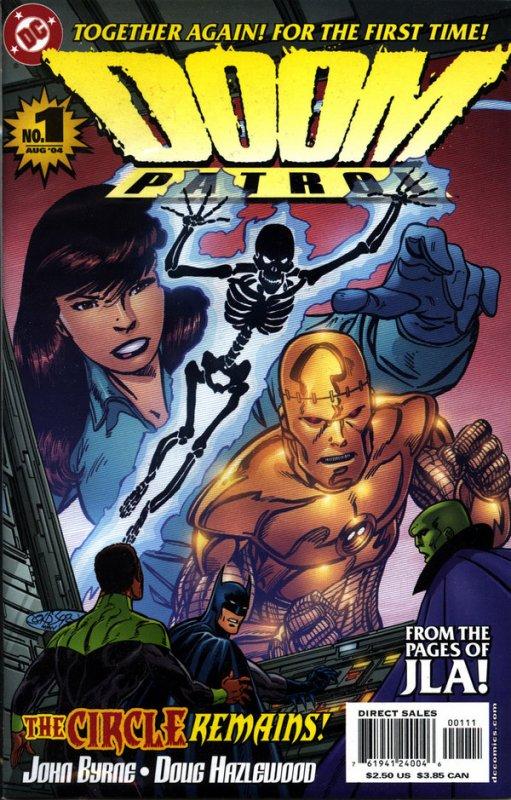 Doom Patrol 1 (2004), dessins et scénario de: John Byrne