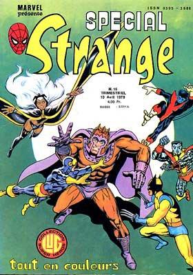 Spécial Strange 15 (1979), cover par: Jean Frisano