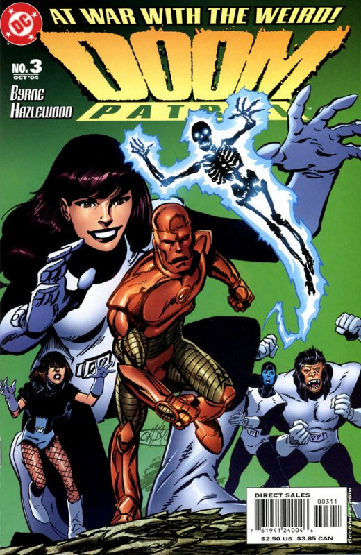 Doom Patrol 3 (2004), dessins et scénario: John Byrne