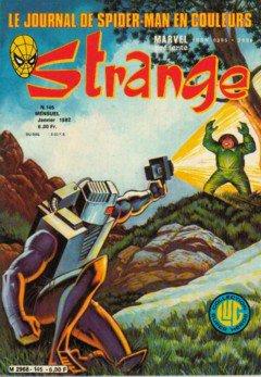 Strange 145 (1982), cover par: Jean Frisano