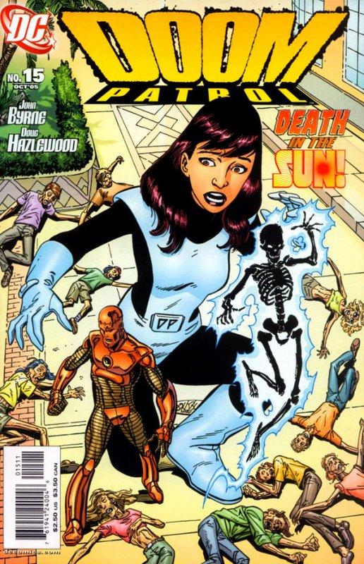Doom Patrol 15 (2005), dessins et scénario de: John Byrne