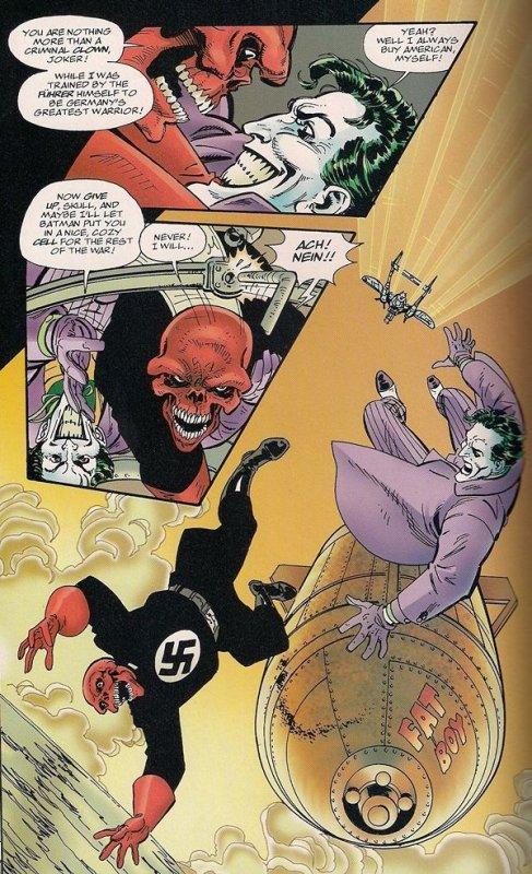 Batman and Captain America (1996), dessins et scénario: John Byrne