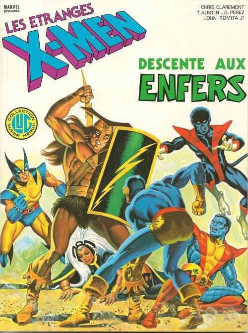 Les étranges X-Men: Descente aux enfers (1983), cover par: Jean Frisano