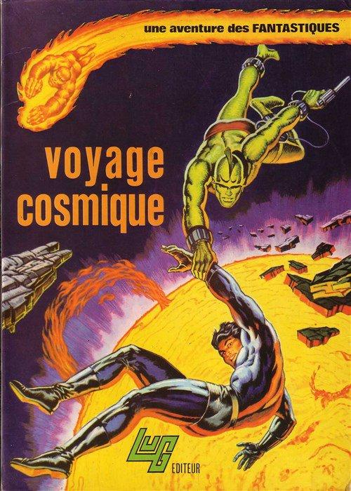 Une aventure des Fantastiques: Voyage Cosmique (1974), cover par: Jean Frisano