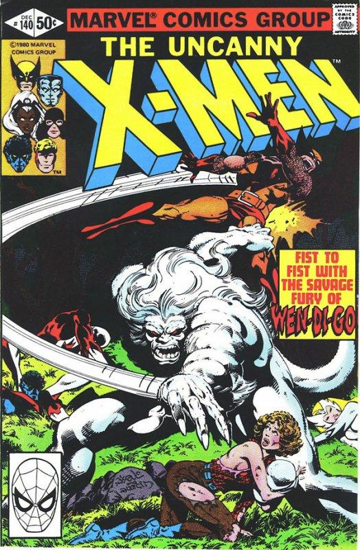 The Uncanny X-Men 140 (1980), dessins de: John Byrne