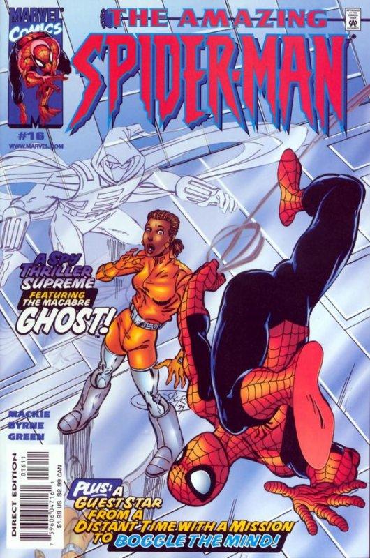 The Amazing Spider-Man 16 (2000), dessins par: John Byrne