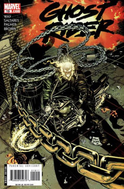 Ghost Rider 19 (2006), dessins de: Javier Saltares