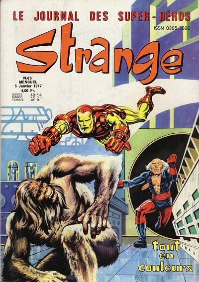 Strange 85 (1977), cover par: Jean Frisano