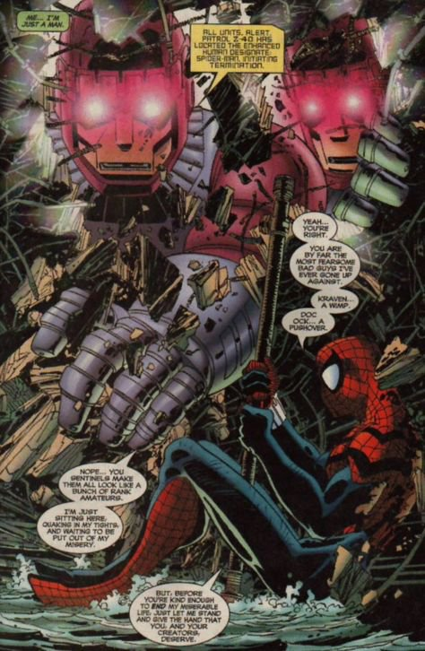 Spider-Man 72 (1996), dessins de: John Romita Jr