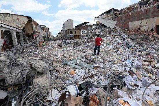 Enorme catastrophe en Equateur