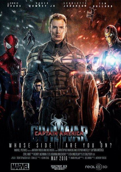Captain America: Civil War (2016) aka Capitaine América: La Guerre civile