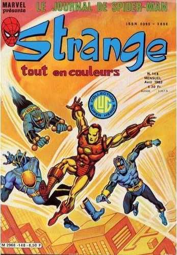 Strange 148 (1982), cover par: Jean Frisano