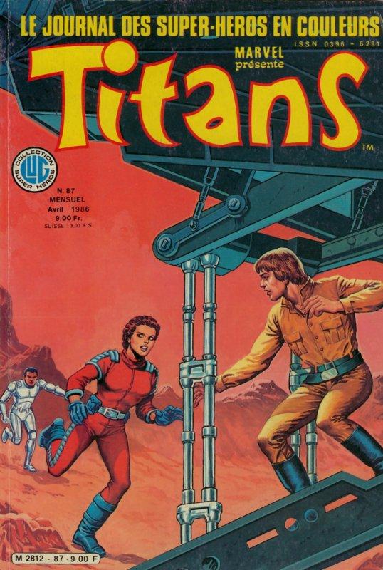 Titans 87 (1986), cover de: Jean Frisano