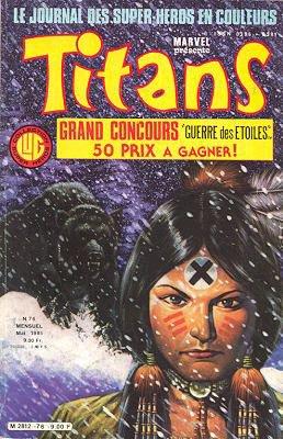 Titans 76 (1985), cover par: Jean Frisano
